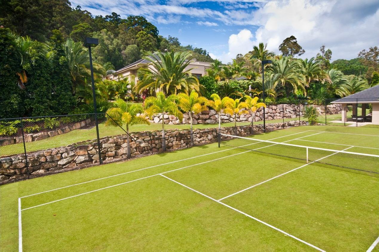 beautiful tennis court 1