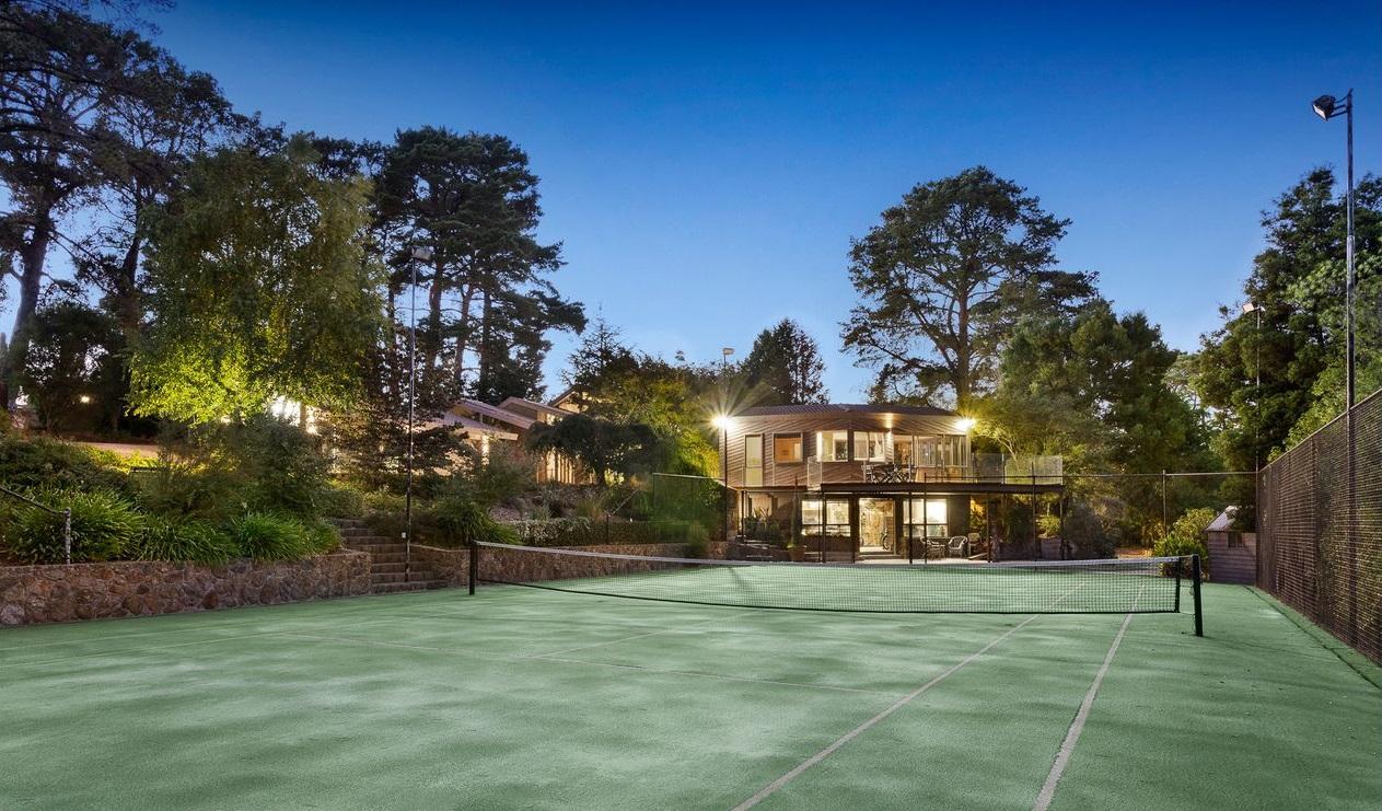 beautiful tennis courts 12