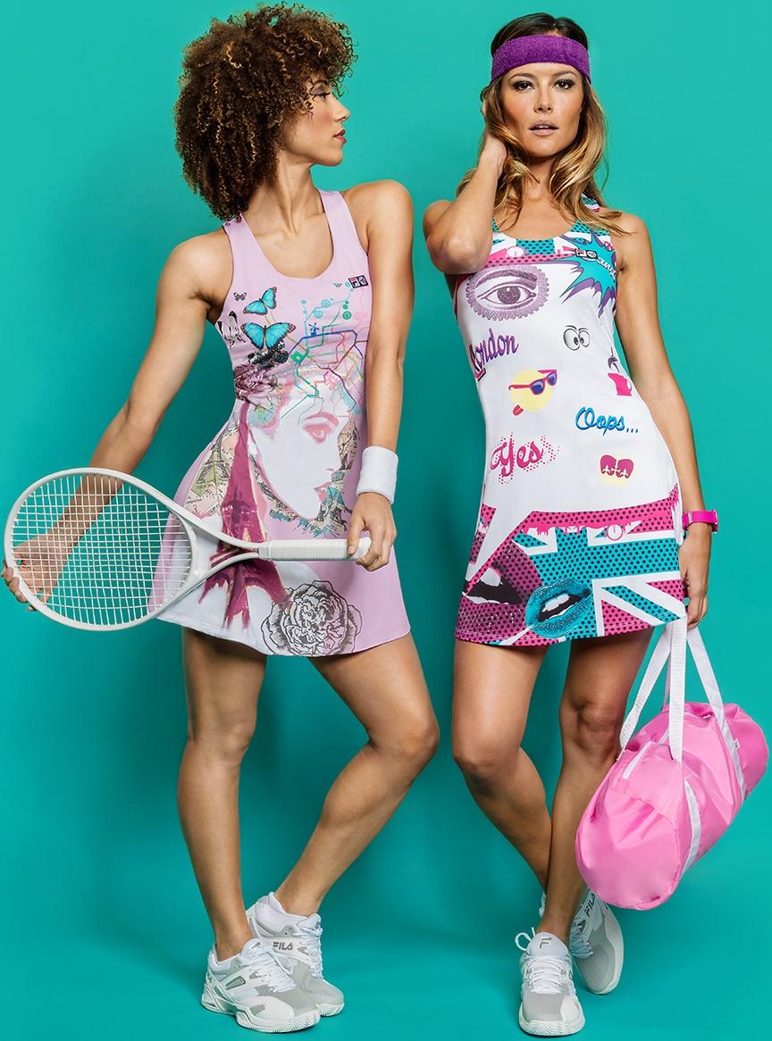 Marion Bartoli tennis dresses
