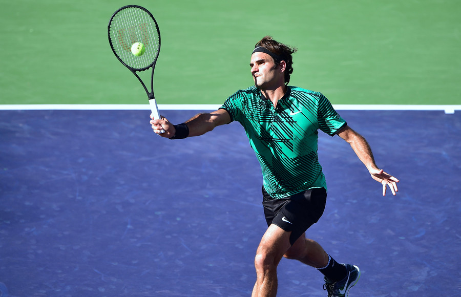Federer Volley From No Mans Land Tennis Life Magazine