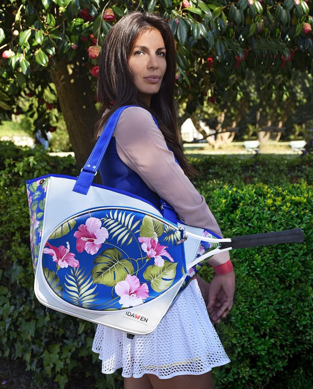 idawen beach hawaii tennis bag