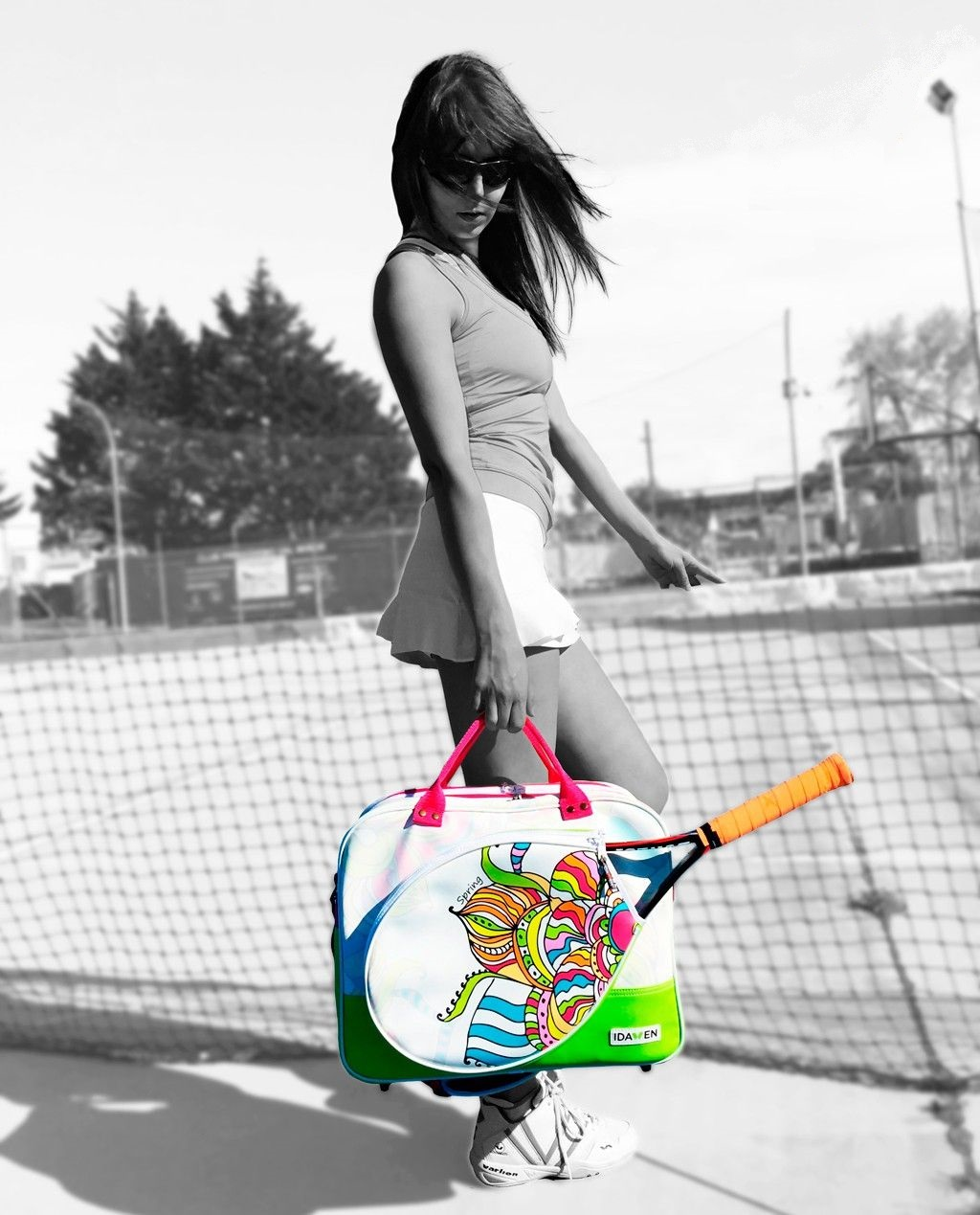 idawen wiuvre spring tennis bag