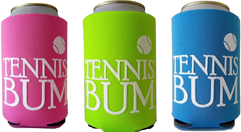 Tennis Bum koozies