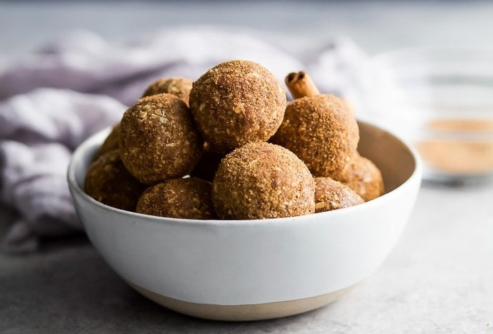 Snickerdoodle energy balls