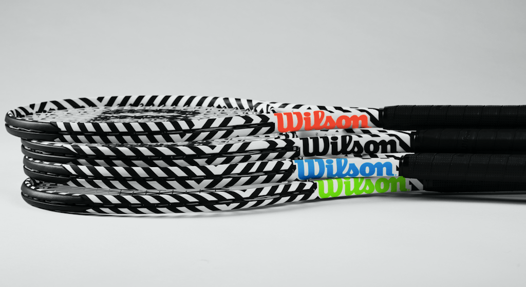 Wilson's Bold Edition Collection rackets