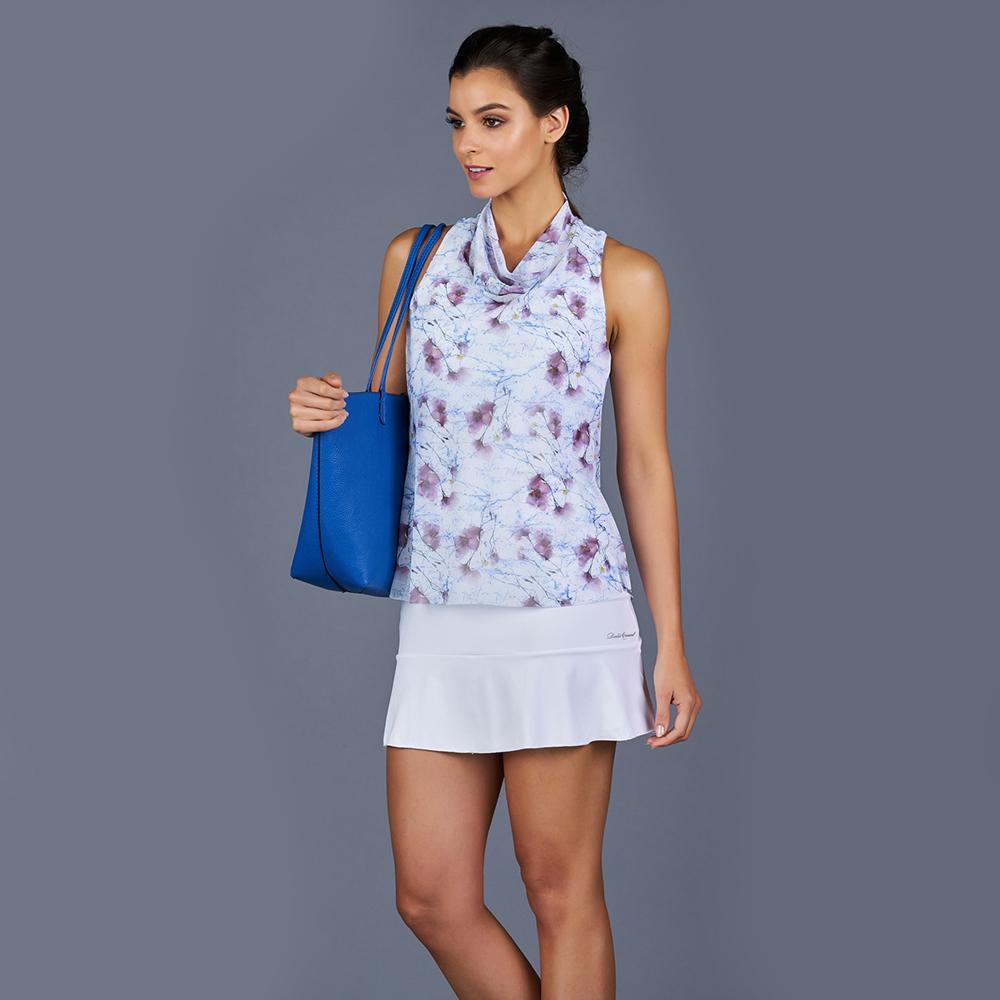 Spring marble tennis dress