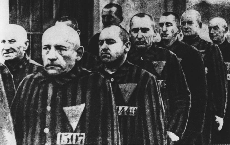German homosexual prisoners