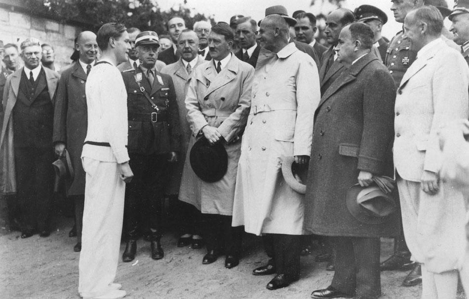 Hitler and von Cramm