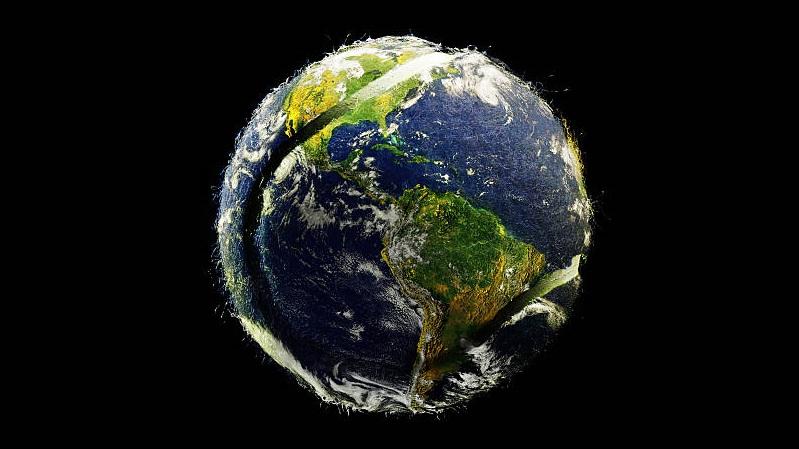 earth tennis ball