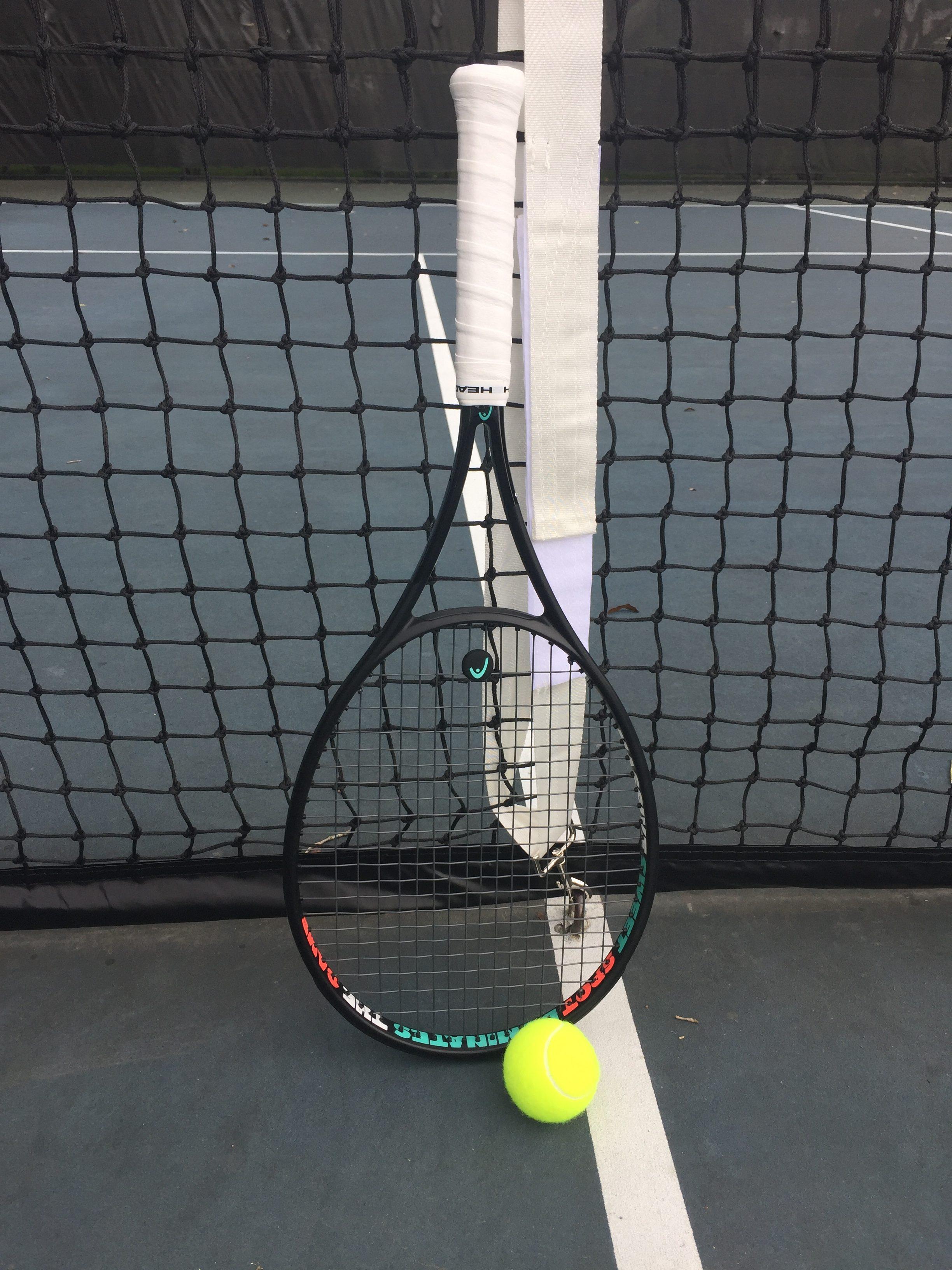HEAD prototype MP racquet