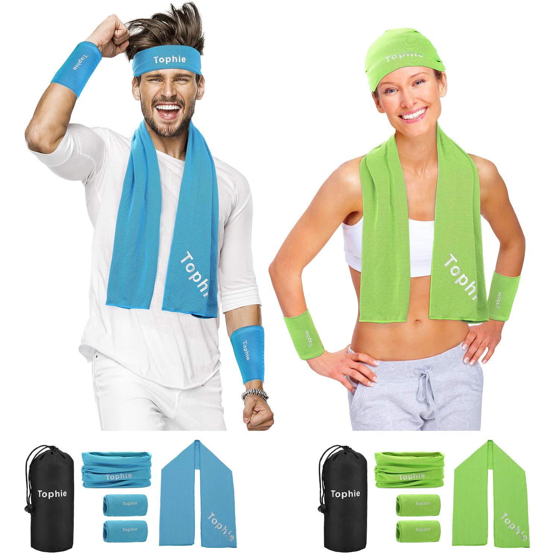 tophie cooling towel sets