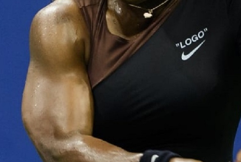 serena williams arm muscles