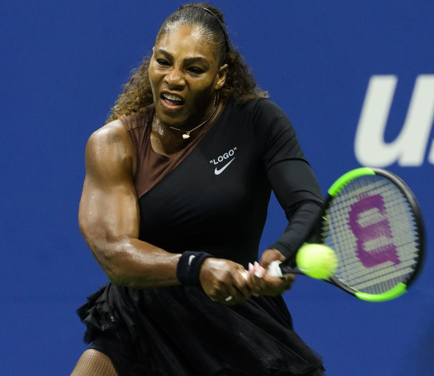 serena williams muscles