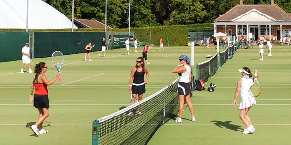 country club doubles tennis