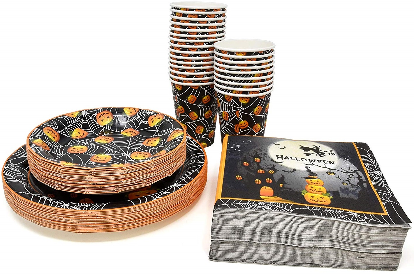 halloween themed party set