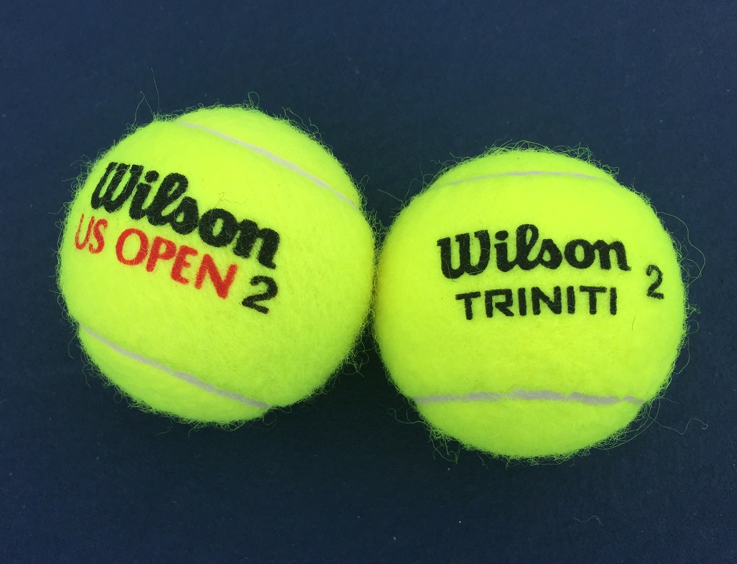 tennis ball comparison