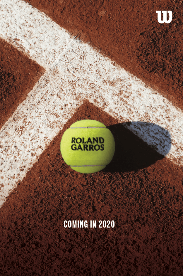New Wilson Tennis Ball For Roland Garros