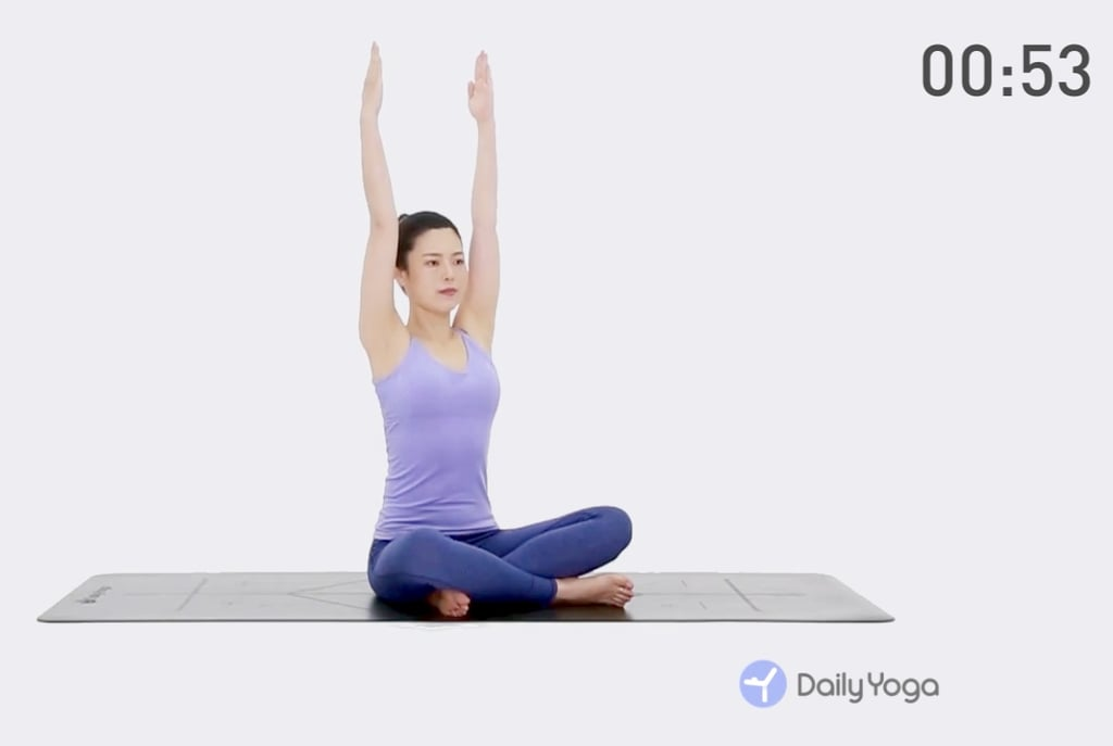 daily yoga workout fitness