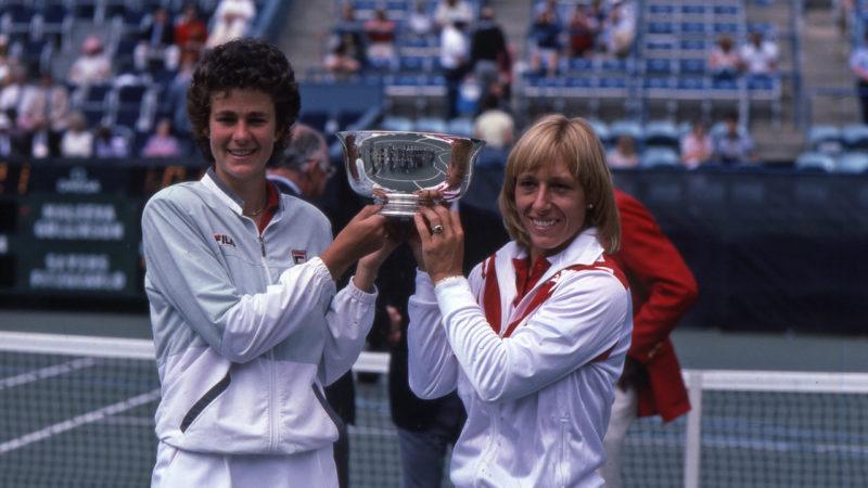 Pam Shriver and Martina Navratilova