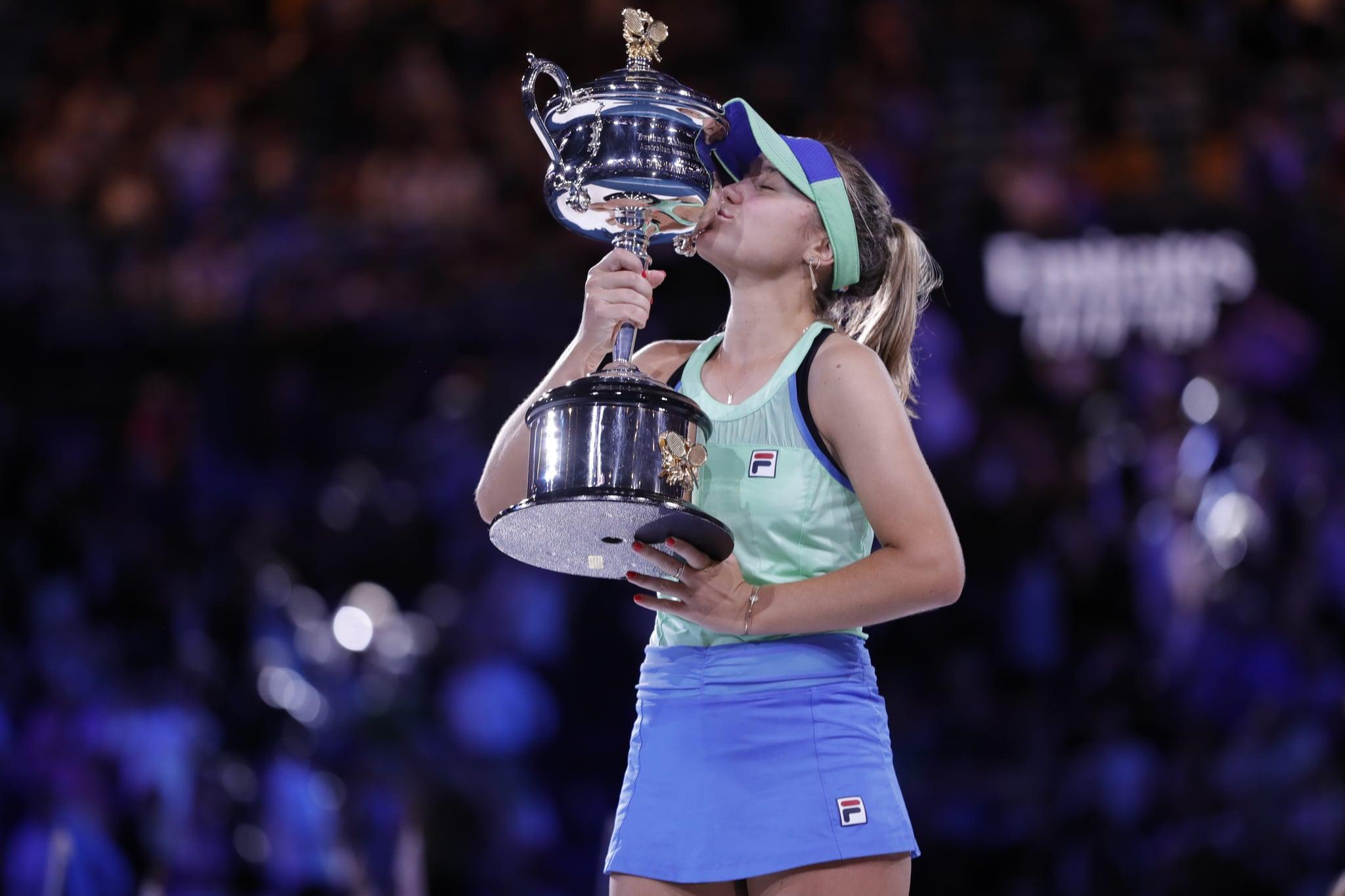Sofia Kenin wins Australian Open 2020