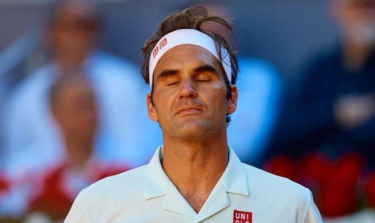 Roger Federer at 2019 Madrid Open