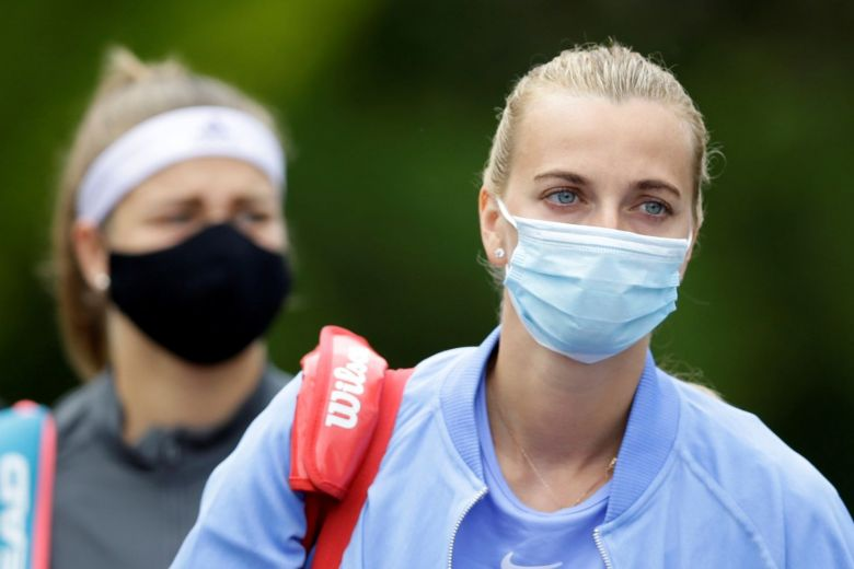 Petra Kvitova and Karolina Muchova