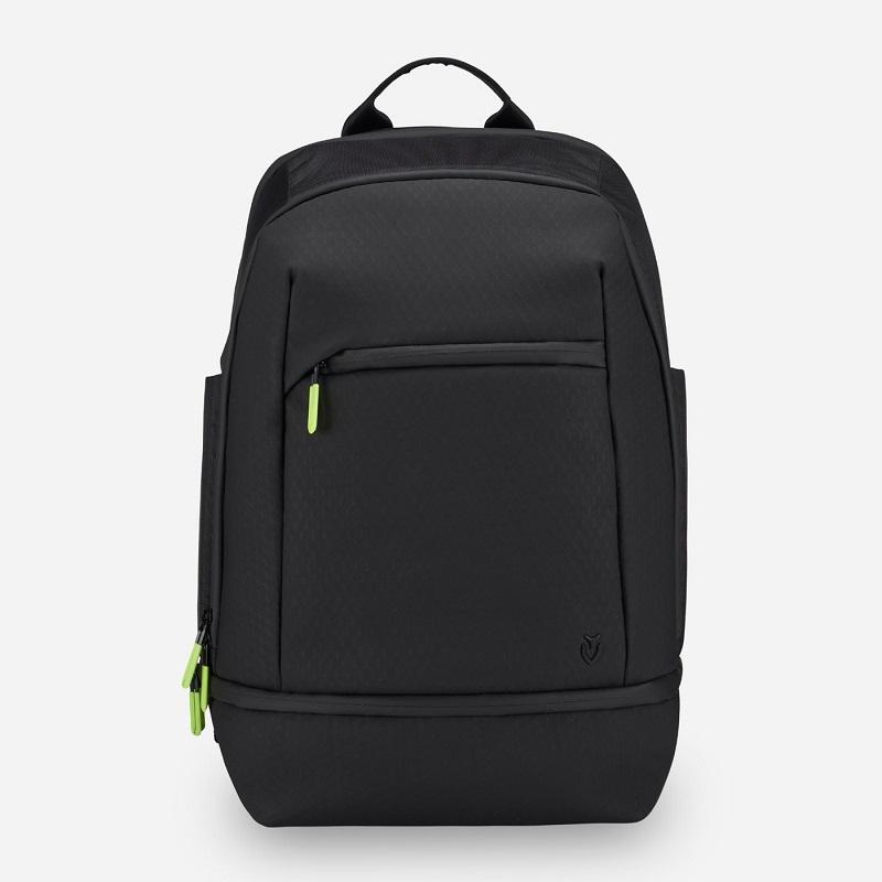 Baseline Tennis Backpack in Black Tech