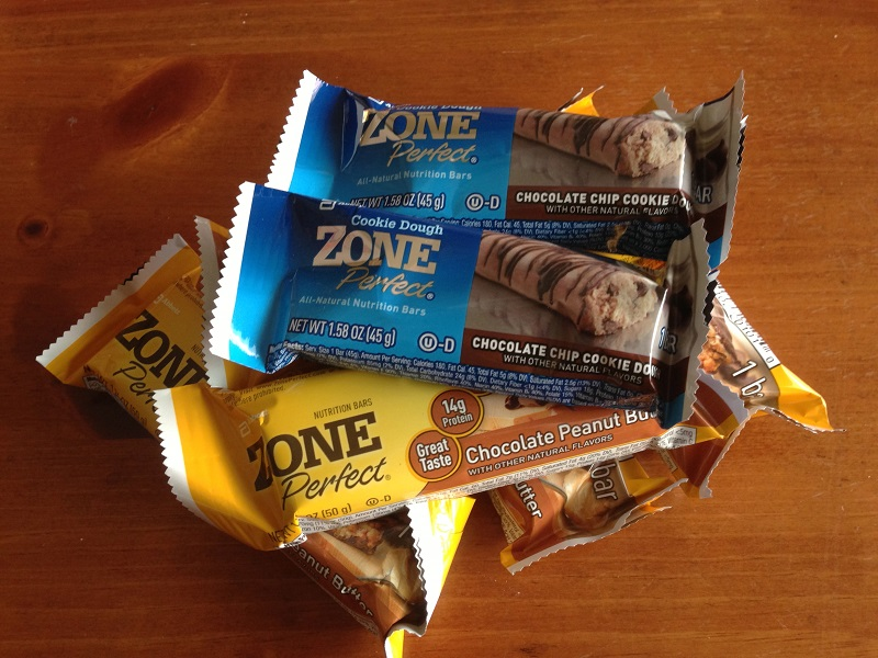 Zone Perfect Nutrition Bars