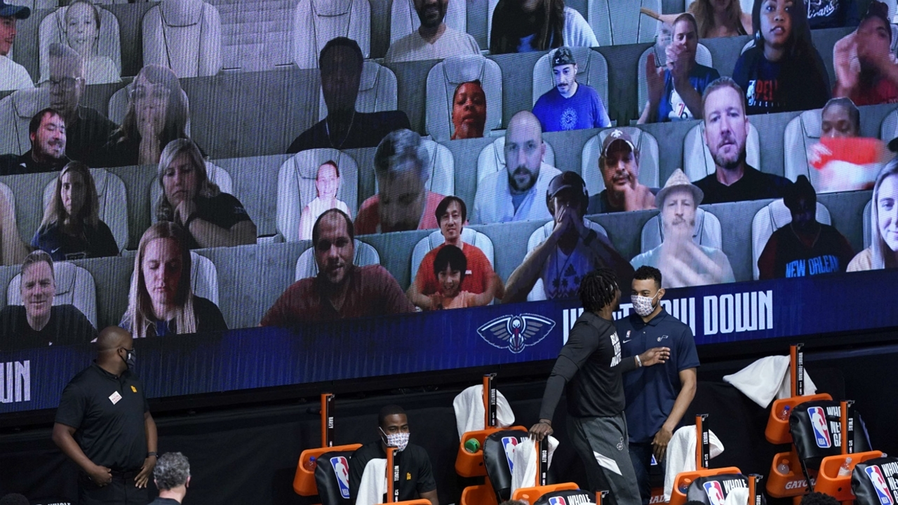 NBA virtual fans