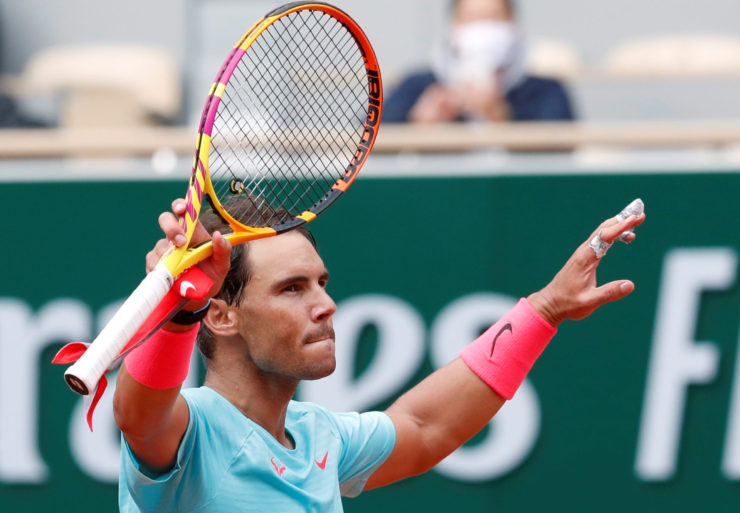 Rafael Nadal at 2020 French Open