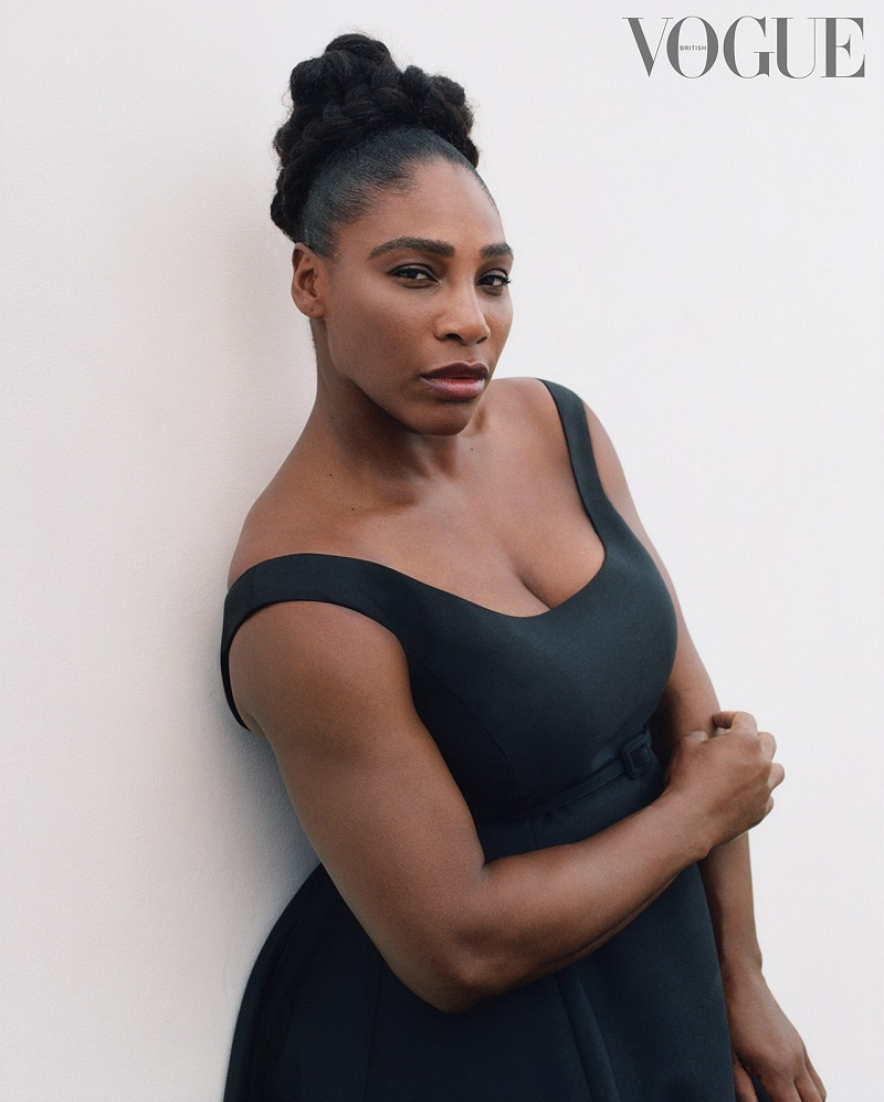 Serena WIlliams British Vogue cover
